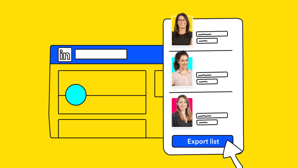 How to export LinkedIn contacts